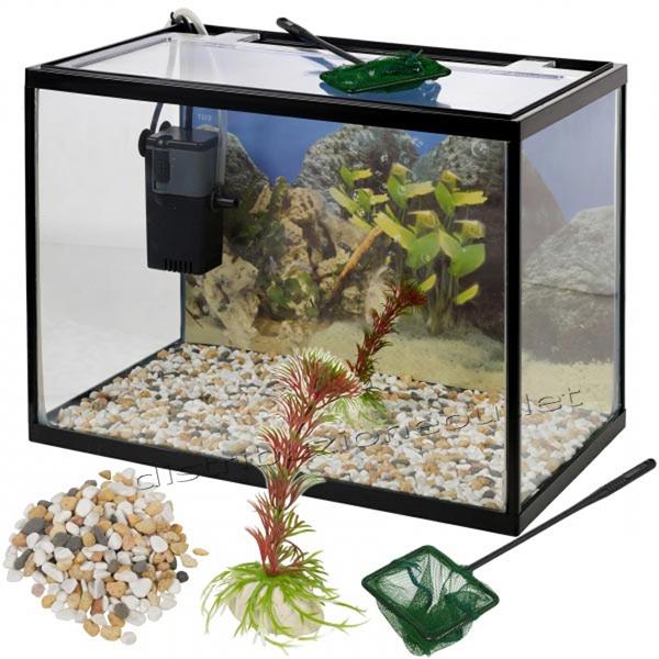 Acquario per pesci rossi offerte e risparmia su ondausu for Filtro vasca pesci rossi